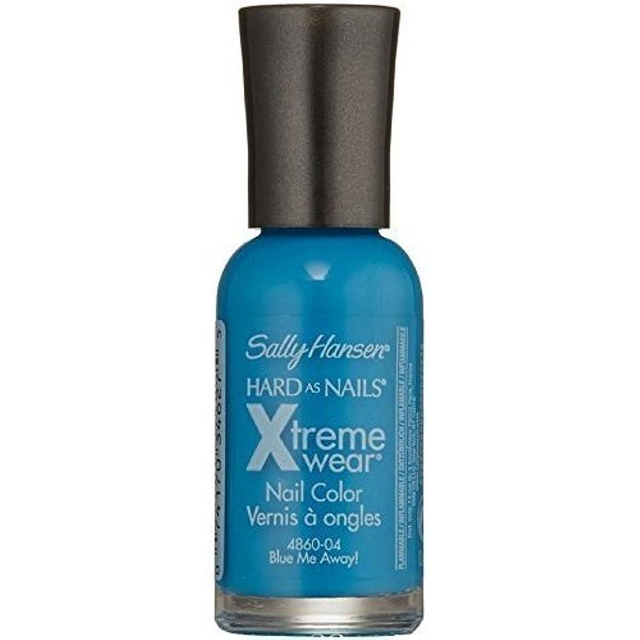 によるとエミュレーション関連付けるSALLY HANSEN Hard As Nails Xtreme Wear - Blue Me Away! (並行輸入品)