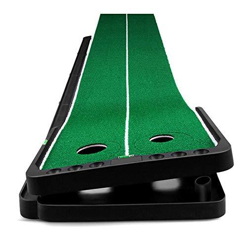 苦手なラインを克服「フリーアングルパターマット」 CIGPAATM 【 ゴルフ練習器具 自動返球 角度 傾斜 調整 パット パター 】