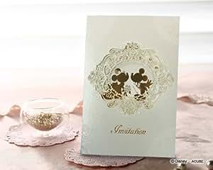 WISH 結婚式(ウエディング) 結婚式 招待状 プリム(10枚セット) 結婚式用手作りキット