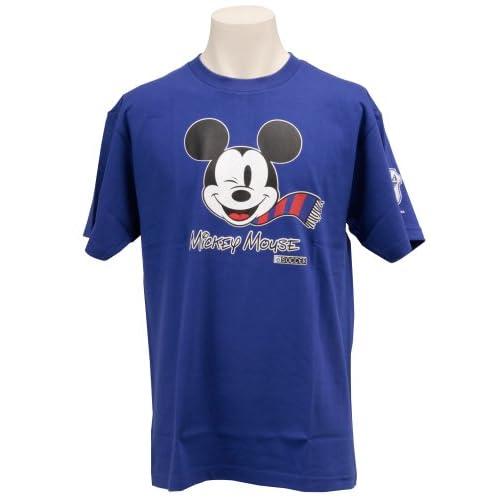 (Jリーグエンタープライズ)J.LEAGUE ENTERPRISE 日本代表 ミッキーマウスTシャツ(フェイス) SAMURAIBLUE L 11419187 L4280  ブルー L