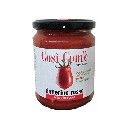 コズィコメ ダッテリーノトマト 赤 ジュース漬け 350g