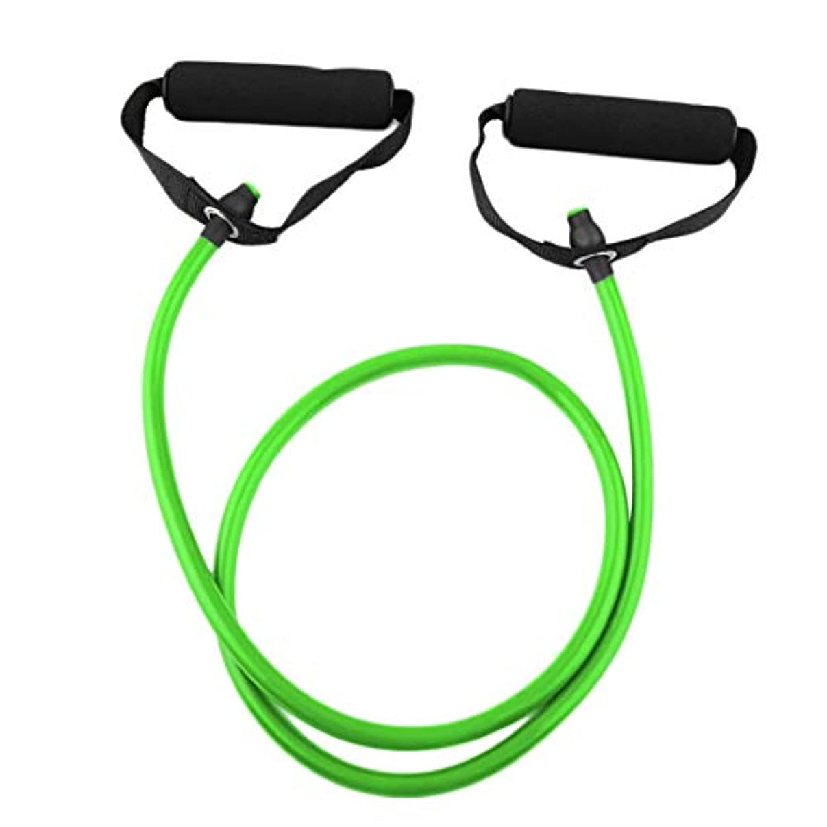 手術参照するヘビーフィットネス抵抗バンドロープチューブエラスティックエクササイズヨガピラティストレーニングホームスポーツプルロープジム運動ツール (PandaWelly)