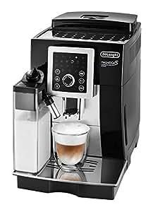 【スタンダードモデル】デロンギ コンパクト全自動コーヒーメーカー マグニフィカ S カプチーノ スマート ブラック ECAM23260SBN
