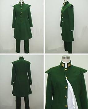 ジョジョの奇妙な冒険風 花京院典明 コスプレ衣装  新品 完全オーダメイドも対応可