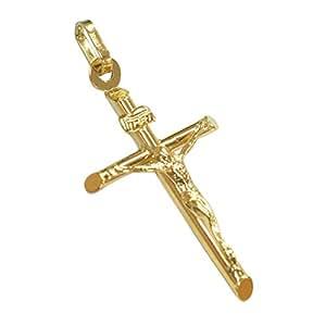 ORO ETERNO k18 クロスペンダント 18金 ペンダントトップ YG クロス 十字架 ヘッド [APA2360]イタリア製