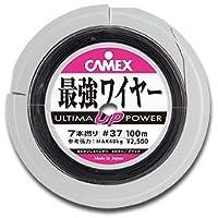 バレーヒル(ValleyHill) リール ULTIMA最強ワイヤー 7本撚 #35 BK 38340