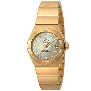 [オメガ]OMEGA 腕時計 Constellation シャンパーニュ文字盤 コーアクシャル自動巻き ダイヤモンド 123.50.27.20.57.002 レディース 【並行輸入品】
