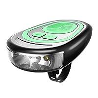 volflashy 自転車 ベル USB 充電式 バイク ホーンライト ヘッドライト 超明るい 防水 電気 120dB ホーン ランプ サイクリング パーツ