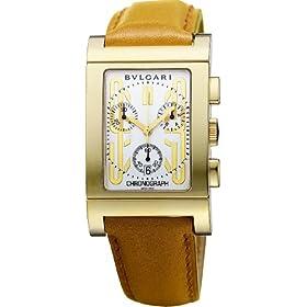 BVLGARI (ブルガリ) 腕時計 RETTANGOLO レッタンゴロ ホワイト RTC49GLD メンズ