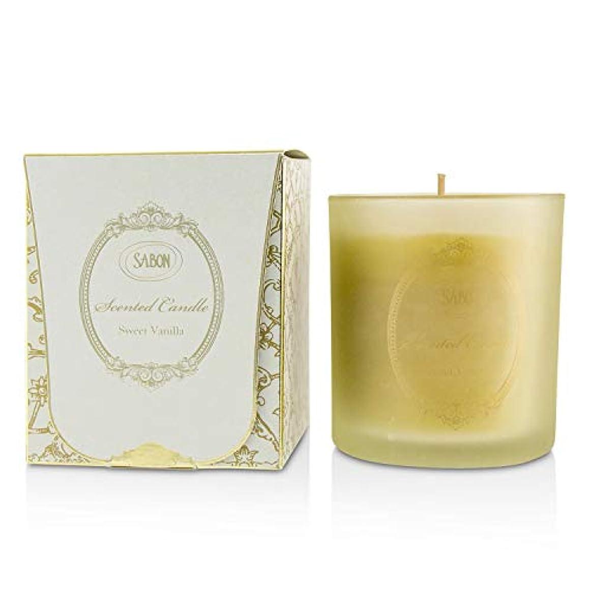 雄弁家スモッグ休憩するサボン Glass Candles - Sweet Vanilla 250ml/8.79oz並行輸入品