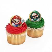 Super Mario 24 Cupcake Rings