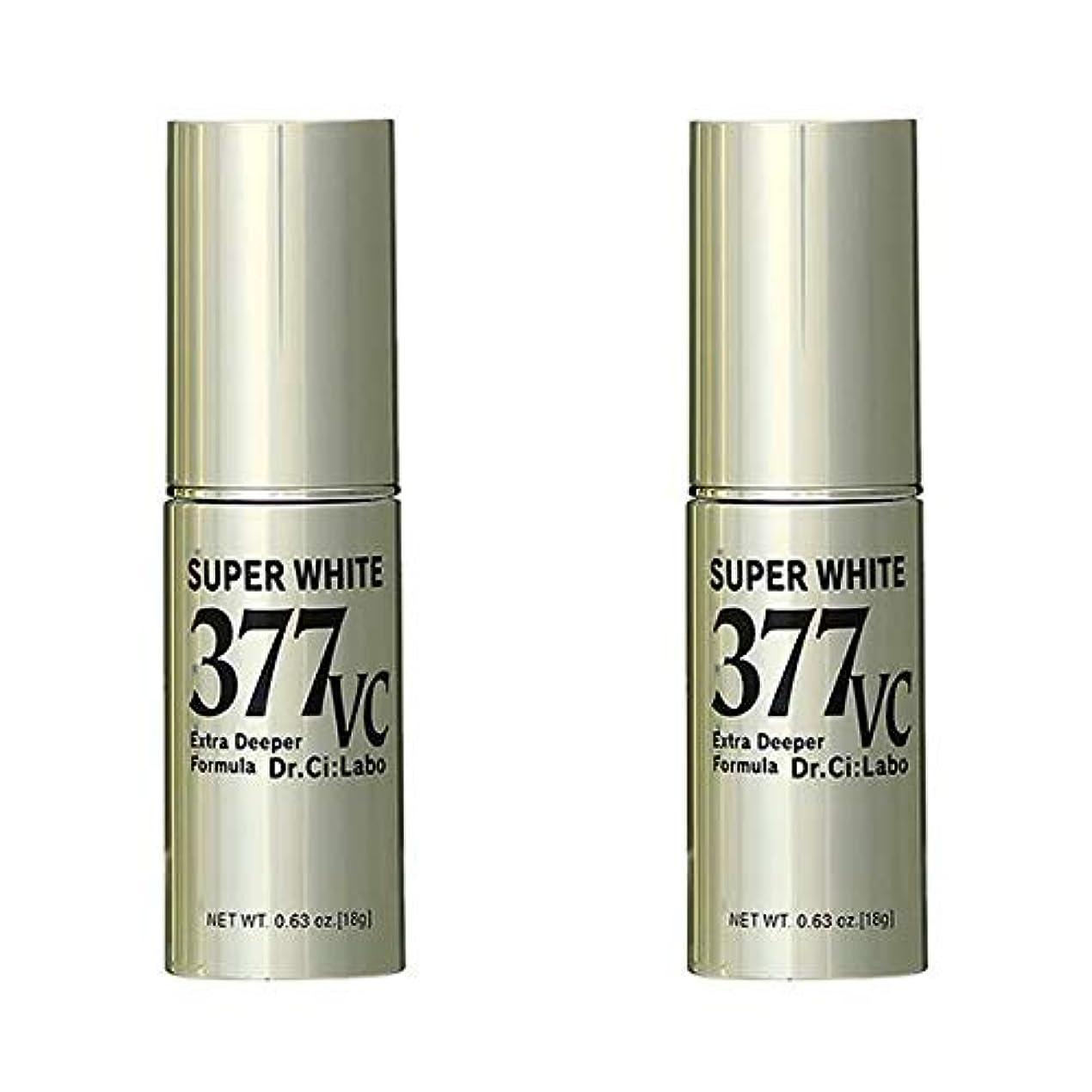 無限大媒染剤識別【2個】 ドクターシーラボ スーパーホワイト377 VC 18gx2個(4524734123294)