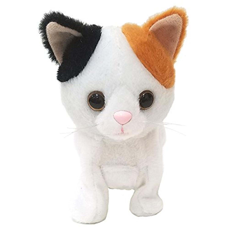 ウォーキングスイートキティ 三毛猫 ぬいぐるみ