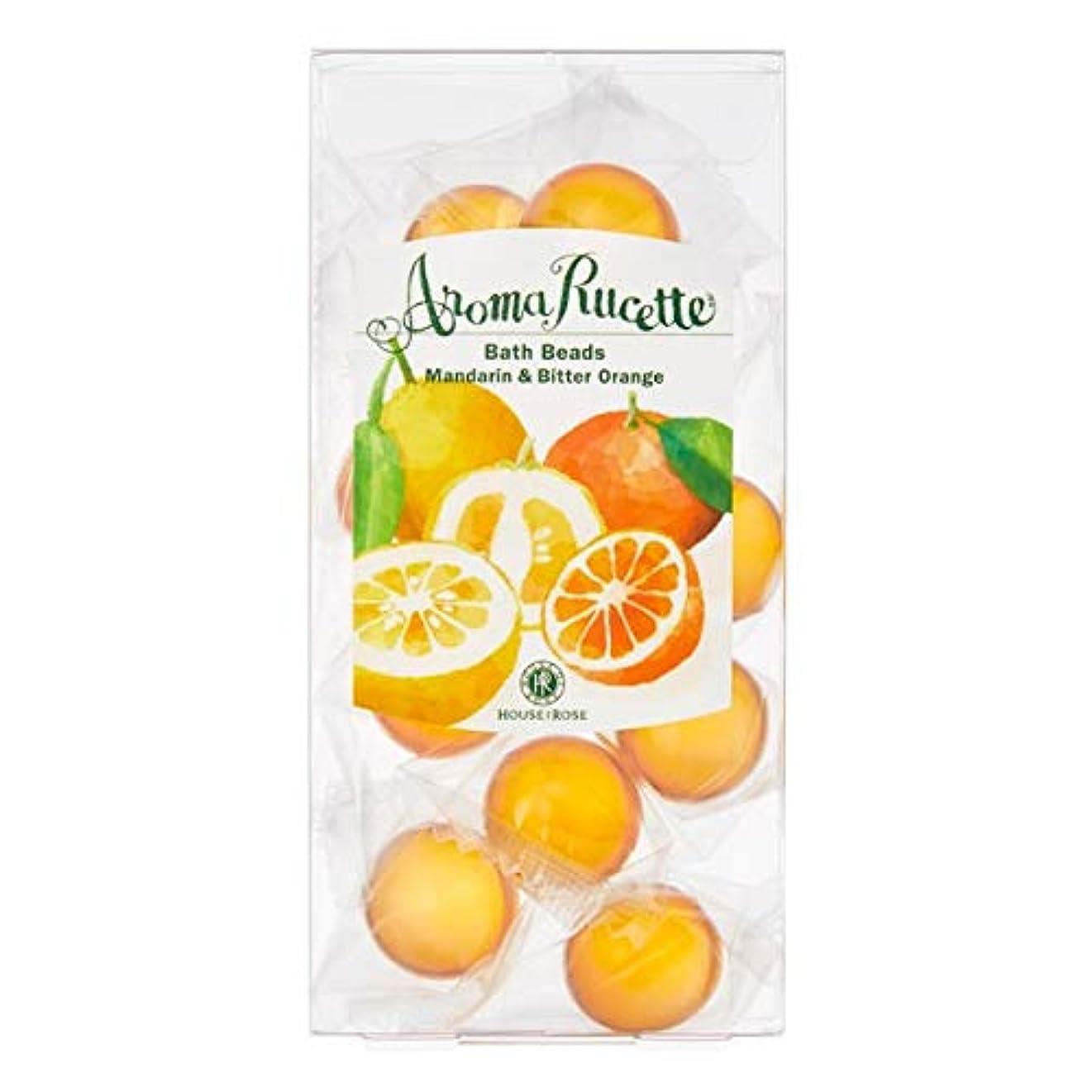 電子レンジレザー計り知れないHOUSE OF ROSE(ハウスオブローゼ) ハウスオブローゼ/アロマルセット バスビーズ MD&BO(マンダリン&ビターオレンジの香り) 7g×11個