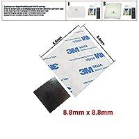 3M 8.8x8.8x0.15mm 両面コーティングティッシュテープ 熱伝導性粘着性サーマルパッド ヒートシンクヒートシンクラジエーター用 50個 8.8 x 8.8mm 6902419215850