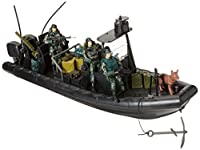 Click N' Play Military Special Operations Combat Dinghy Boat 26 Piece play set With Accessories. [並行輸入品]