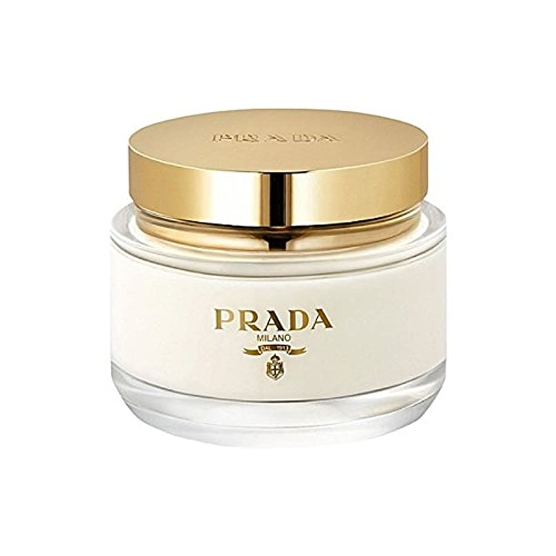 雨安全性誰もPrada La Femme Body Cream 200ml (Pack of 6) - プラダラファムボディクリーム200ミリリットル x6 [並行輸入品]