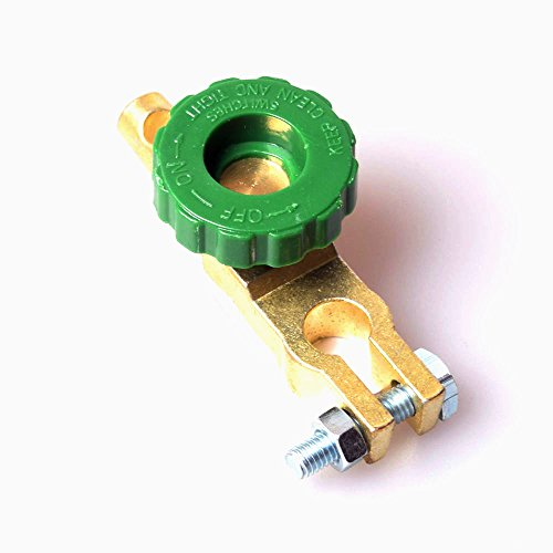自動車電源キル スイッチ バッテリー 漏電保護切断 汎用電池クリップ遮断器 上部のインストール B端子 軽自動車/コンパクトカー バッテリー杭頭12-14mm