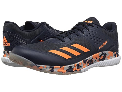 (アディダス) adidas メンズバレーボールシューズ・靴 Crazyflight Bounce Legend Ink/Hi-Res Orange/Grey Two 11 (29cm) D - Medium