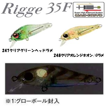 ジップベイツ リッジ 35F