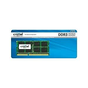 CFD販売 ノートPC用メモリ PC3L-12800(DDR3L-1600) 8GB×1枚 / 240Pin / 1.35V/1.5V両対応 / 無期限保証 / Crucial by Micron / D3N1600CM-8G