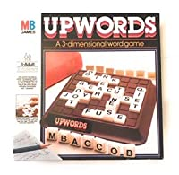 Upwords : A 3次元Word Game ( 1983 ) by Milton Bradley by Milton Bradley Upwordsゲーム