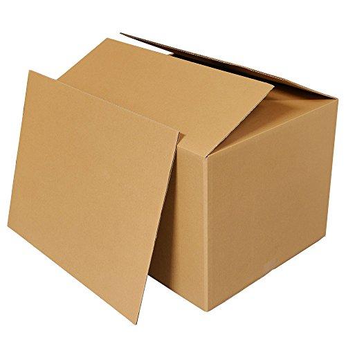 ボックスバンク ダンボール 引っ越し(段ボール箱)160サイズ 5枚セット 中敷き板付(2つ折り配送) FD02-0001 強化材質