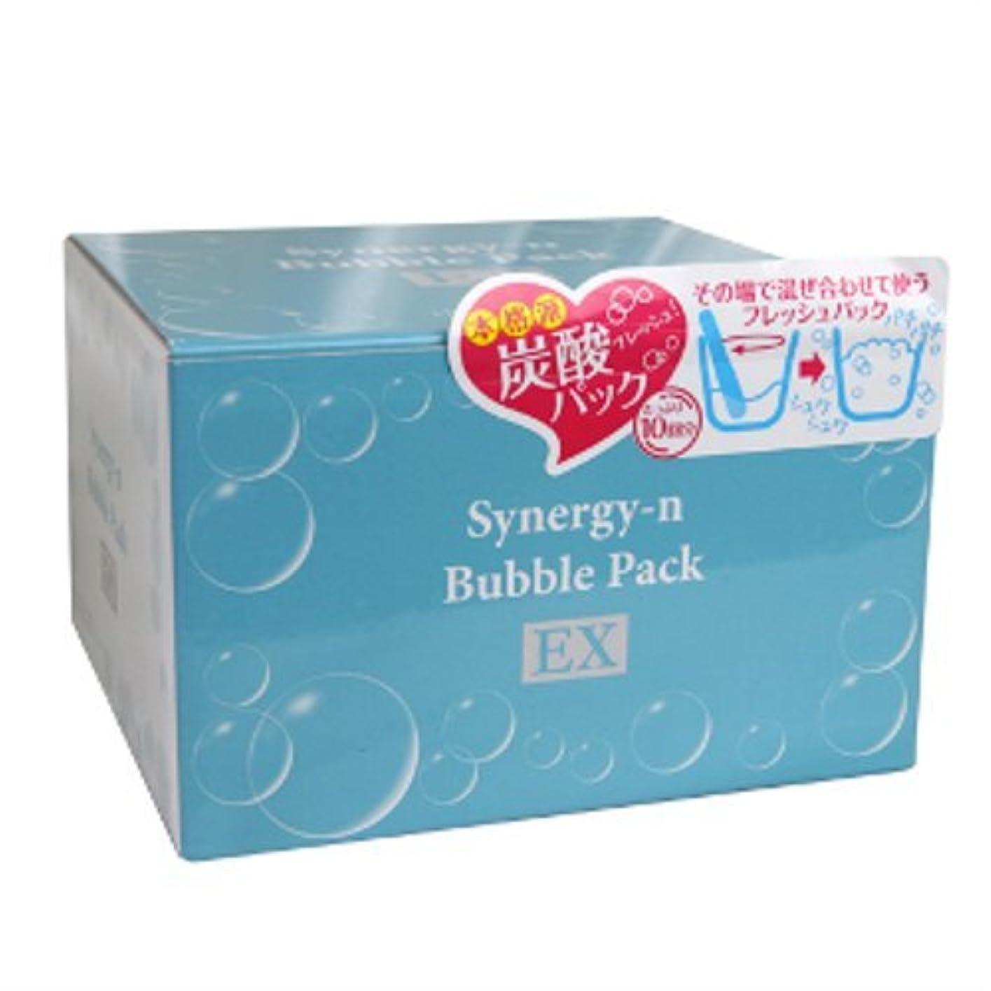 大胆不敵先行する中にSynergy-n bubble face pack