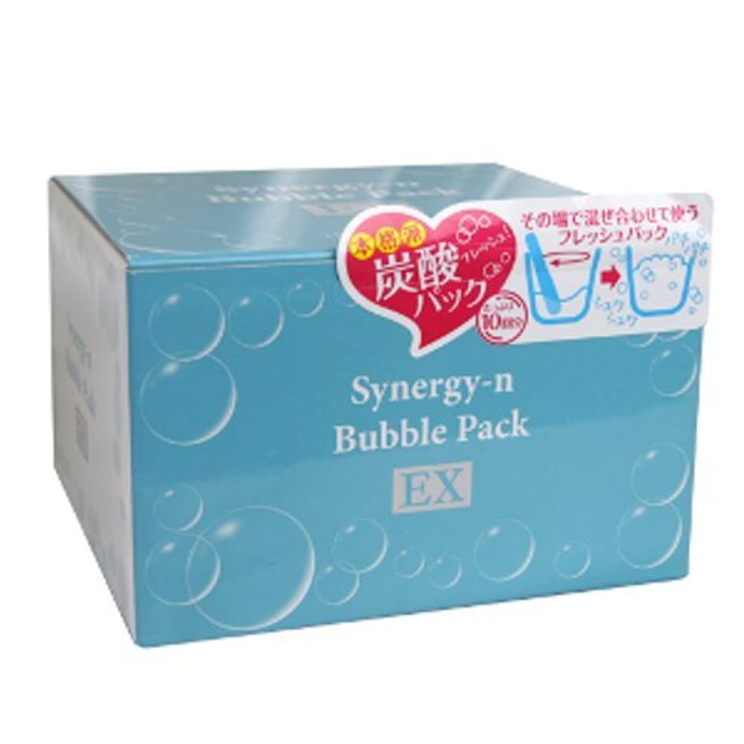 硬い料理異邦人Synergy-n bubble face pack