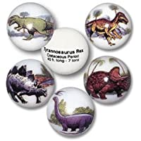 Dinosaur Animarbles, Educational Info On The Back, 15cm A Pouch, Stands Included, 2.5cm Diameter