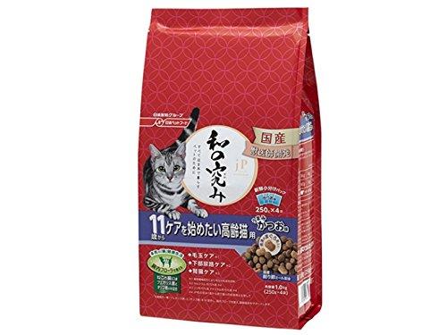 ジェーピースタイル キャットフード 和の究み トータルボディケア 11歳から ケアを始めたい高齢猫用 1kg