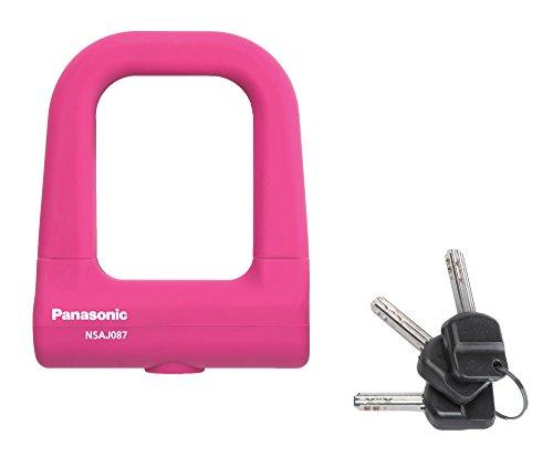 Panasonic(パナソニック) ミニU型ロック [ピンク] シリコンカバー Wディンプルキー NSAJ087-M