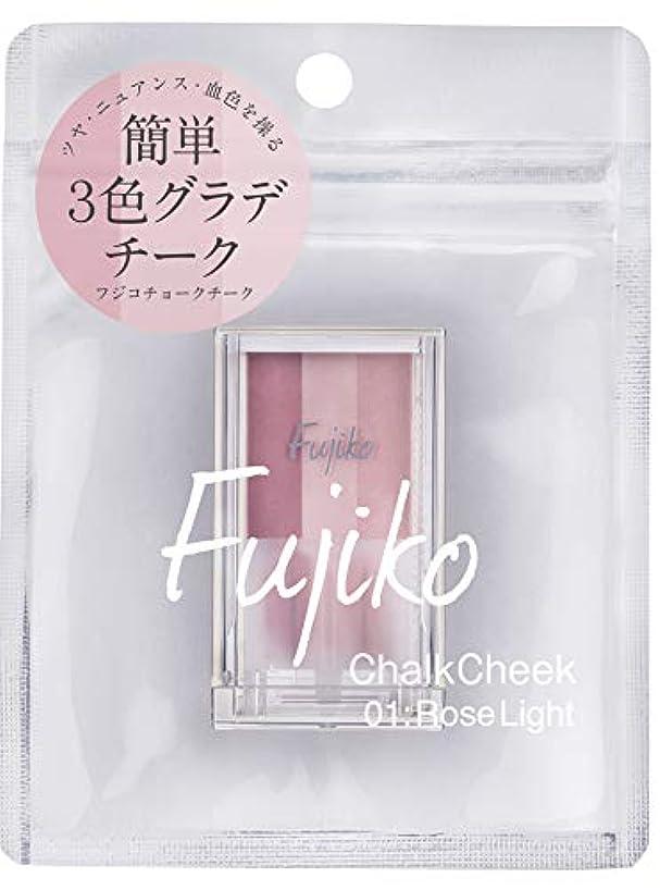 フジコ チョークチーク 01 ローズライト 7.1g
