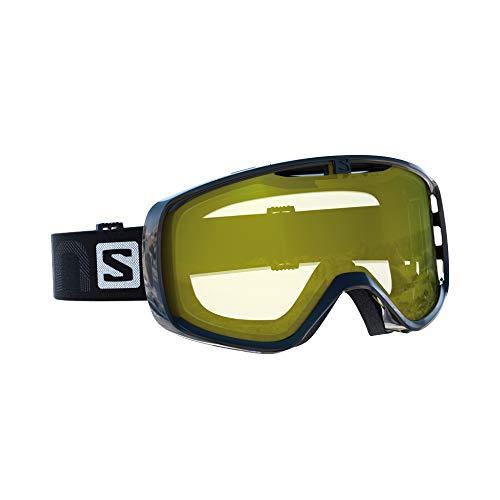 サロモン(SALOMON) スキー スノーボード ゴーグル ユニセックス AKSIUM ACCESS Black/L.Yel L39926500