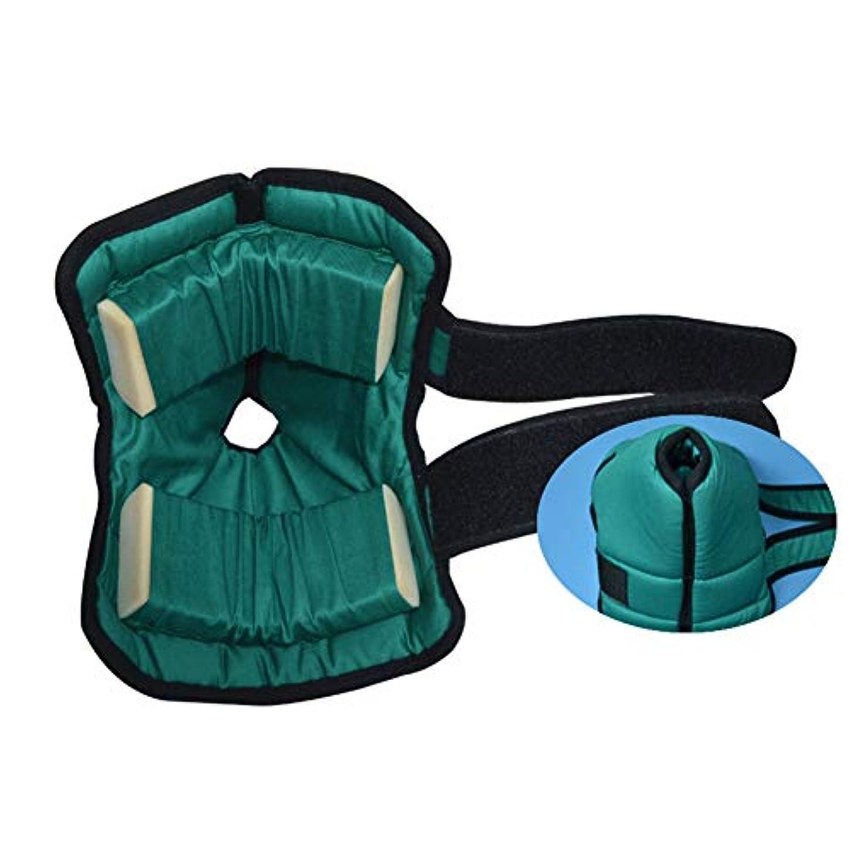 連想リングバック想定かかとプロテクター枕、足枕かかとクッションプロテクター、Pressure瘡予防のためのアキレス腱プロテクター、高齢者の足の補正カバー-1ペア