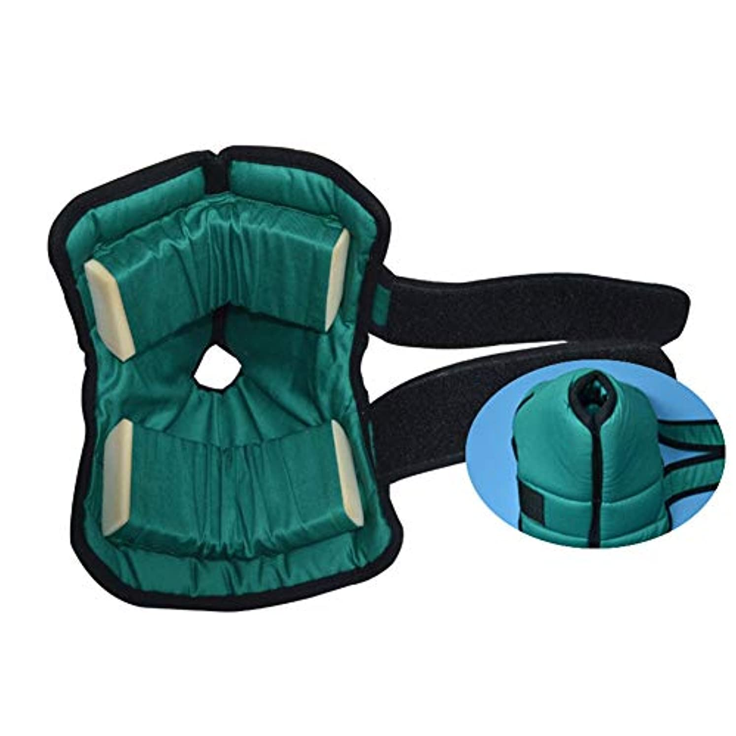 民主党騒スライスかかとプロテクター枕、足枕かかとクッションプロテクター、Pressure瘡予防のためのアキレス腱プロテクター、高齢者の足の補正カバー-1ペア