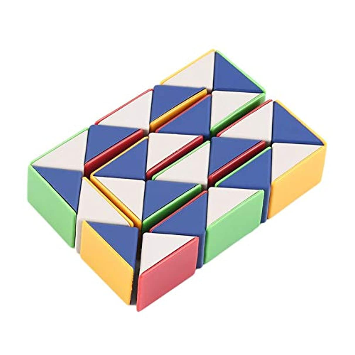 最初に入場料急速なTumdem スネークマジック3Dキューブゲームパズルツイストおもちゃパーティー旅行家族子供ギフト子供の知性を促進するために良い
