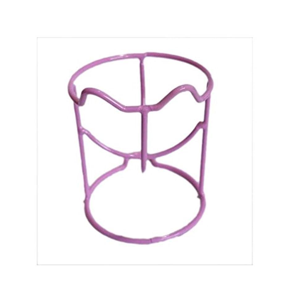 放置家庭気分2乾燥ホルダーラックメイク卵パウダーパフスポンジディスプレイスタンドのセット