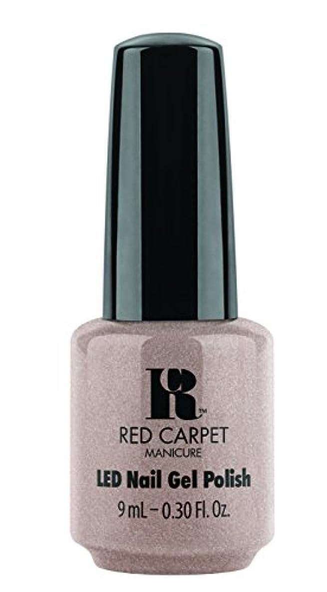 余計な分岐する失速Red Carpet Manicure - LED Nail Gel Polish - Simple Stunning - 0.3oz / 9ml