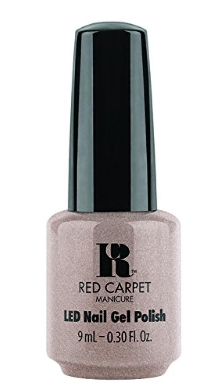 配る時間フリルRed Carpet Manicure - LED Nail Gel Polish - Simple Stunning - 0.3oz / 9ml
