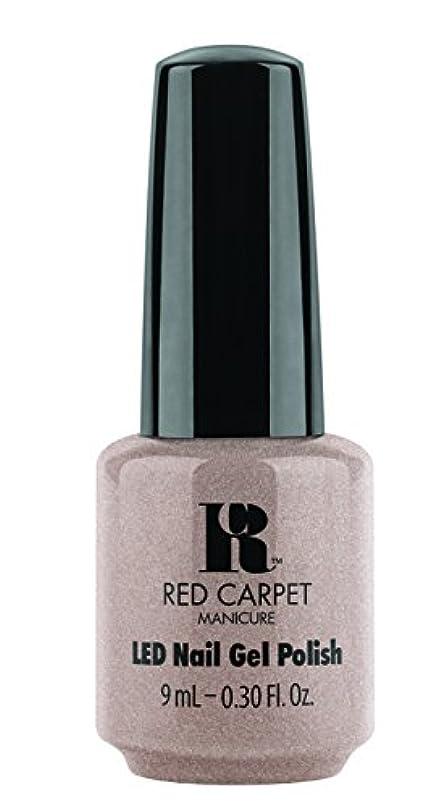 沈黙乱闘安全なRed Carpet Manicure - LED Nail Gel Polish - Simple Stunning - 0.3oz / 9ml