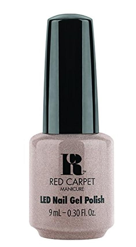 煙エンディング赤Red Carpet Manicure - LED Nail Gel Polish - Simple Stunning - 0.3oz / 9ml