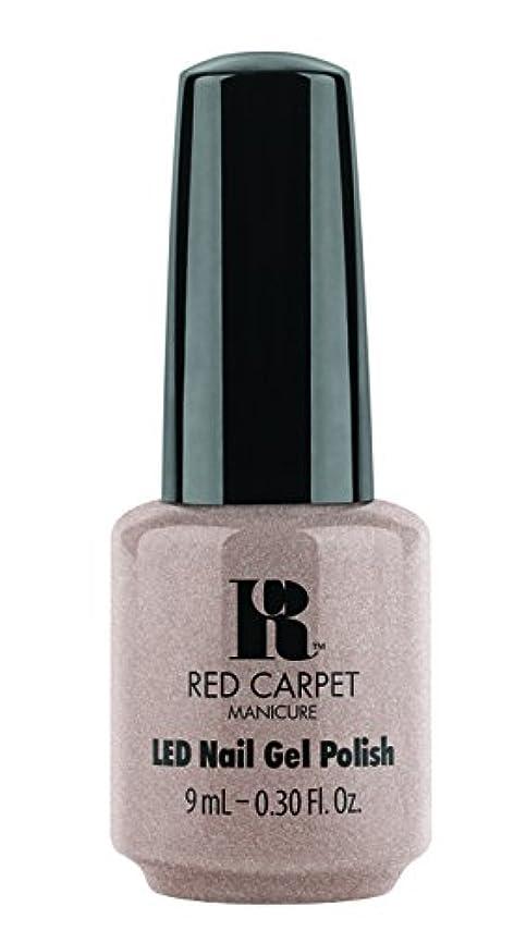 マイクロフォンカバレッジポスターRed Carpet Manicure - LED Nail Gel Polish - Simple Stunning - 0.3oz / 9ml