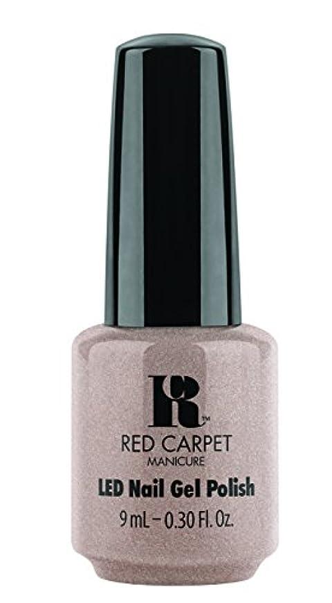 無声で最も早い誘導Red Carpet Manicure - LED Nail Gel Polish - Simple Stunning - 0.3oz / 9ml