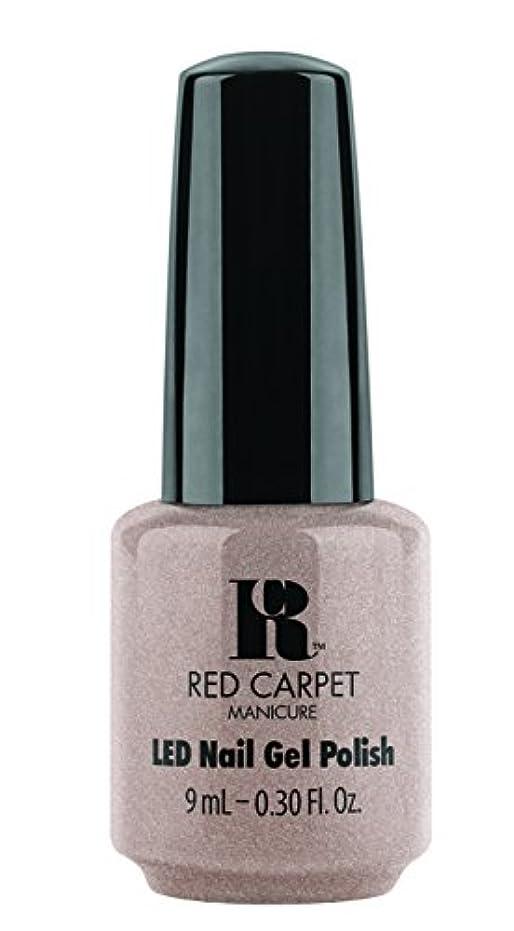 事前高いグリットRed Carpet Manicure - LED Nail Gel Polish - Simple Stunning - 0.3oz / 9ml