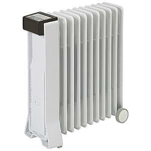 ユーレックス オイルヒーター(4~10畳 アイボリーホワイト)【暖房器具】eureks RFX11EH(IW)