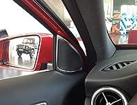 メルセデス・ベンツ AクラスA180 A200 2013-2017 ドアオーディオスピーカー ABSクロームフレームカバートリムステッカーアクセサリー