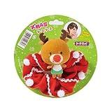 【クリスマス小物】クリスマスシュシュ トナカイ(1個)  / お楽しみグッズ(紙風船)付きセット
