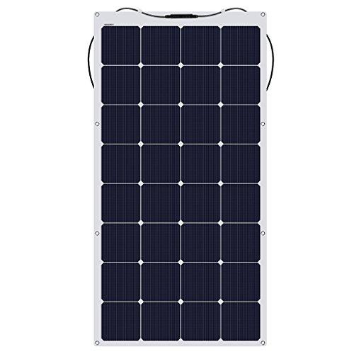 suaoki ソーラーチャージャー 150W 単結晶 ソーラーパネル 高発電効率 MC4コネクタ 直列/並列接続 柔軟 極...