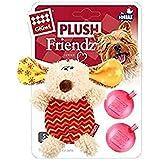 Gigwi Plush Dog Squeaker Toy